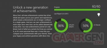 succès Xbox one
